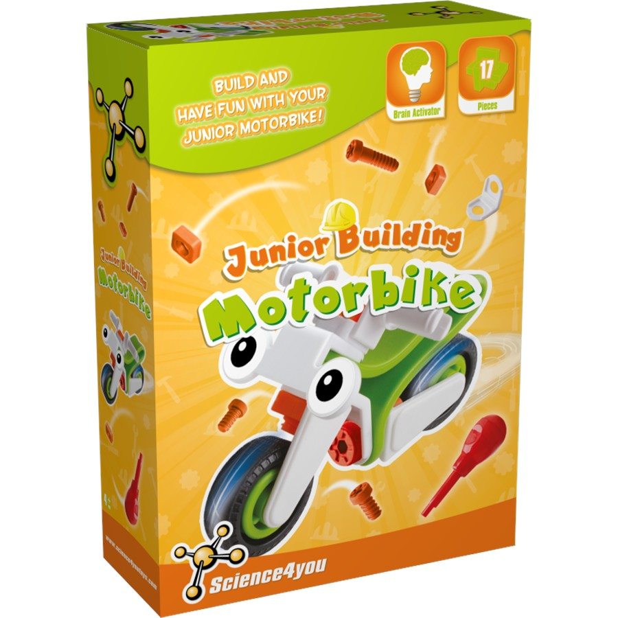 Juguete SCIENCE4YOU Junior Building Moto