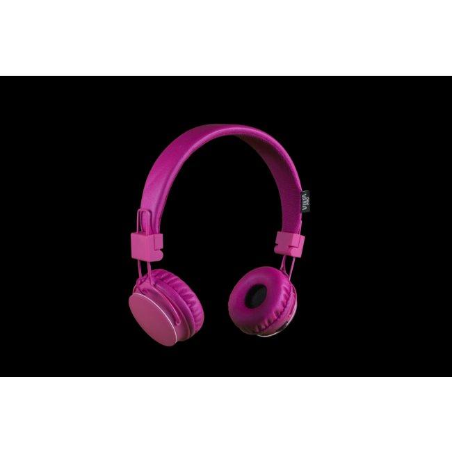 Auriculares Blueooth Vieta Vhp-bf180pk Rosas