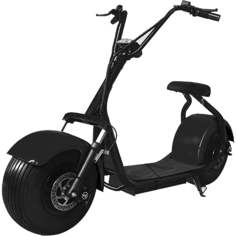 Scooter eléctrico matriculable SMECO naranja