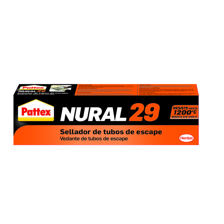 Sellador de tubos de escape PATTEX Nural 29 140 gr
