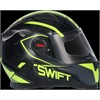 Casco Moto integral SWIFFER fluorescente L