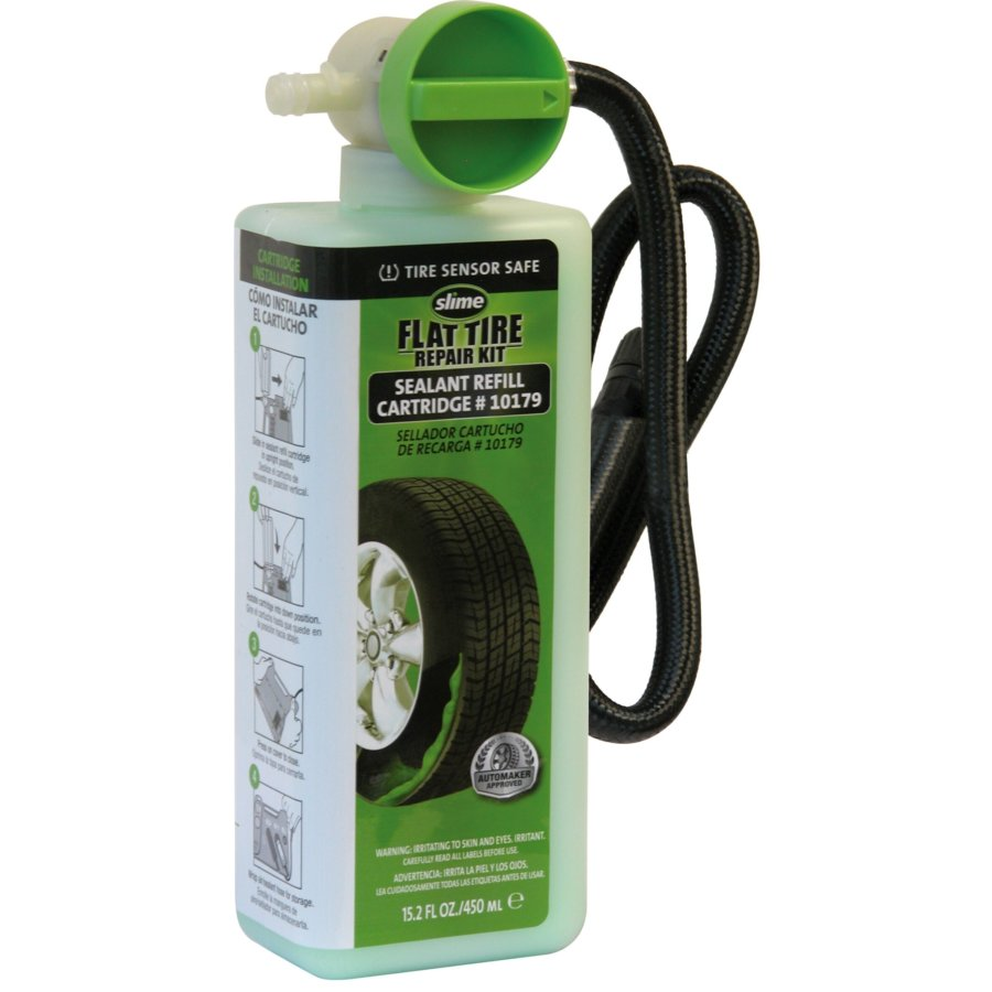 Recambio sellante Flat Tyre Repair Kit SLIME 450 ml