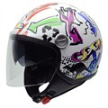 Casco Moto Jet NZI Capital Duo Kiss L