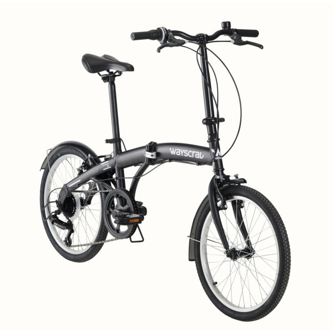 Bicicleta Plegable Wayscral Takeaway 100 Negra