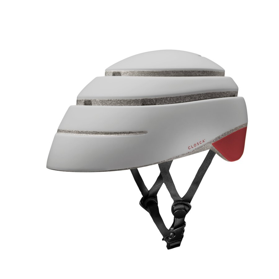 Casco plegable bicicleta/patinete adulto CLOSCA color Pearl Red Wine talla M