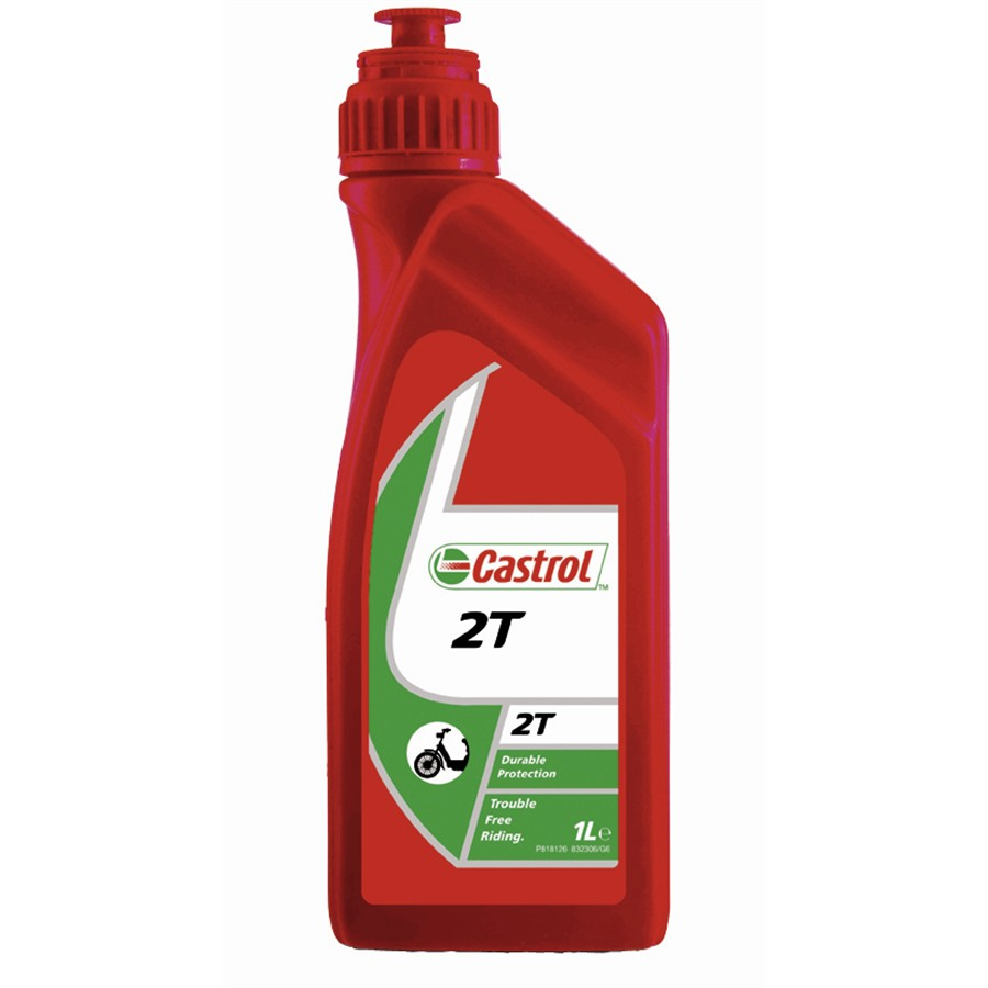 Aceite CASTROL 2T 1 L