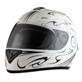 Casco Moto integral RIDE 701 Omaha blanco M