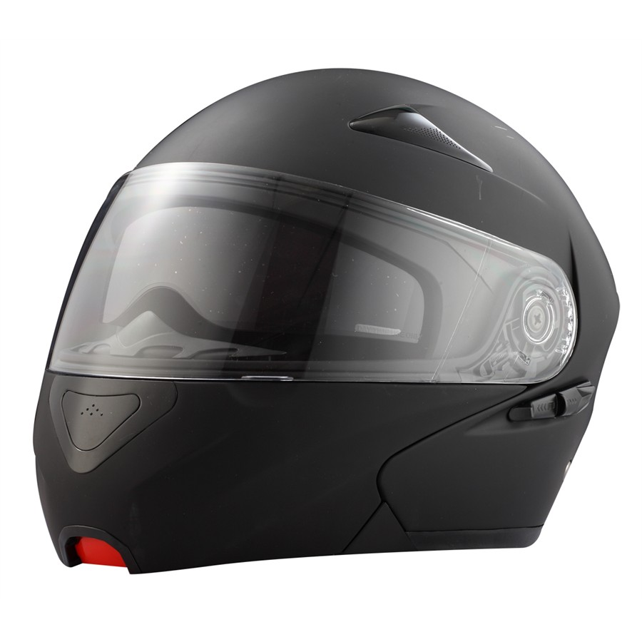 Casco Moto Modular RIDE 601 negro mate XL