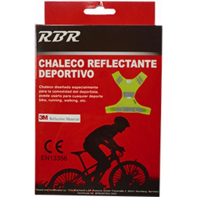 RBR Chaleco Reflectante 3M Scothlite Homologado Sport