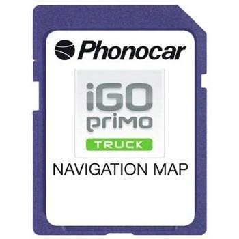 GPS, navegación › Accesorios GPS Mapas de navegación para camiones Micro SD  iGO NextGen PHONOCAR NV950 Europa